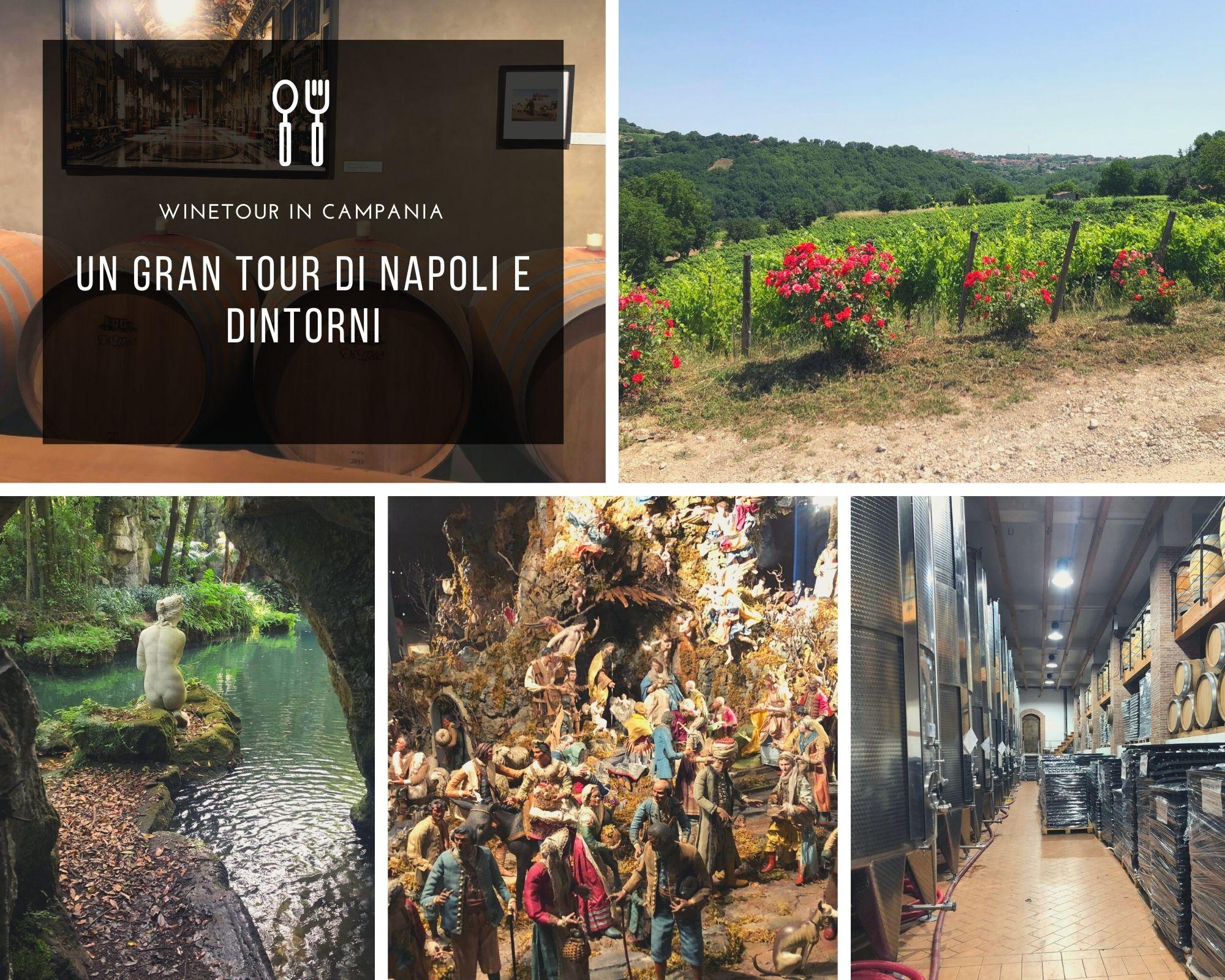 Winetour In Campania: Un Gran Tour Di Napoli E Dintorni
