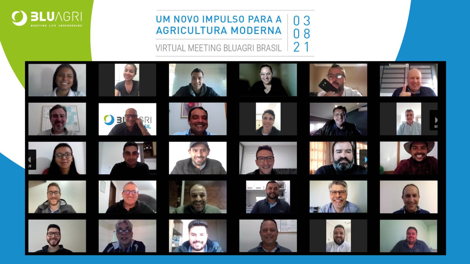 """Virtual Meeting """"BluAgri Brasil"""": Il Bello Di Organizzare Eventi Oltre I Confini"""